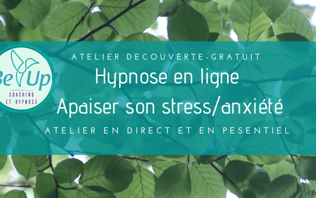 Atelier SPECIAL COVID-19- APAISER SON STRESS ET ANXIETE